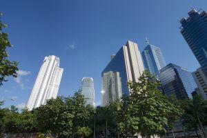 Tour à Hong Kong, symbolisant la puissance des places financières